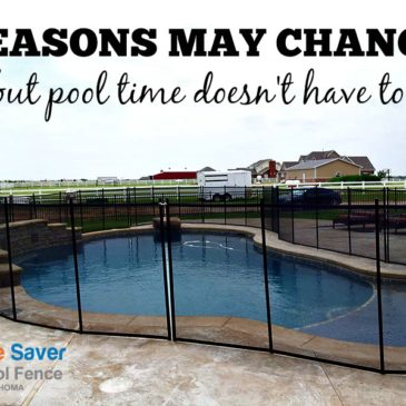 Seasons Change, Not Pool Time!