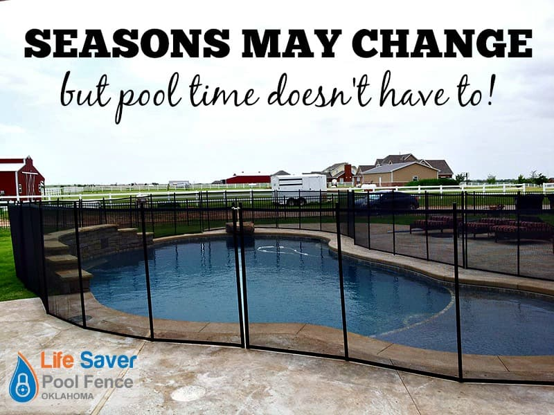 seasons change not pool time