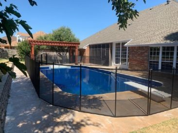Pool Fence Moore Ok Pool Safety Fence Installations Moore Ok Mesh Pool Fences Moore